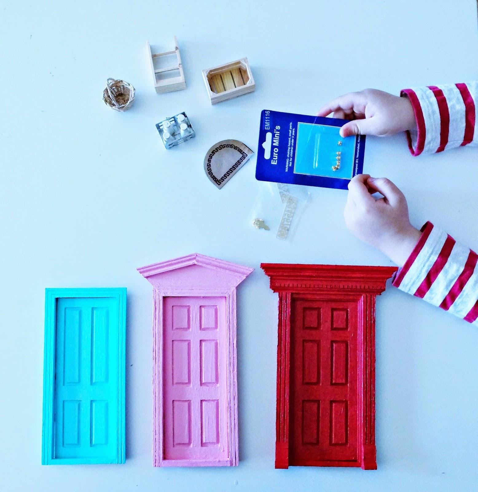 DIY Puerta Ratoncito Pérez - Tooth Fairy Door - Raton Perez