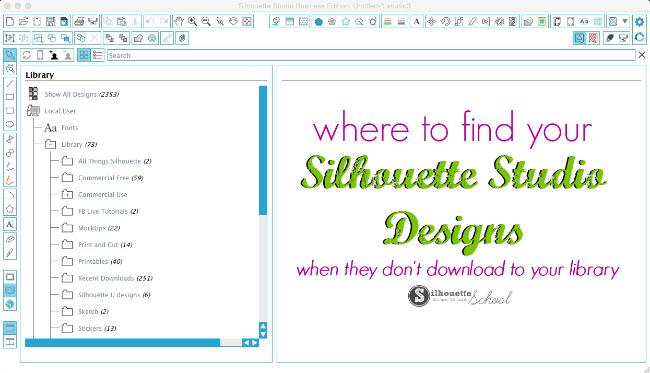 Silhouette Studio library, silhouette studio files, silhouette files, silhouette cameo tutorials, silhouette cameo, silhouette designs