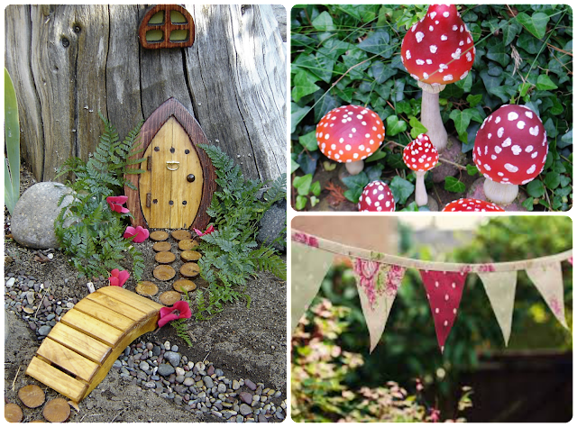 Our ideal garden the mini mes and me for Tinkerbell fairy door