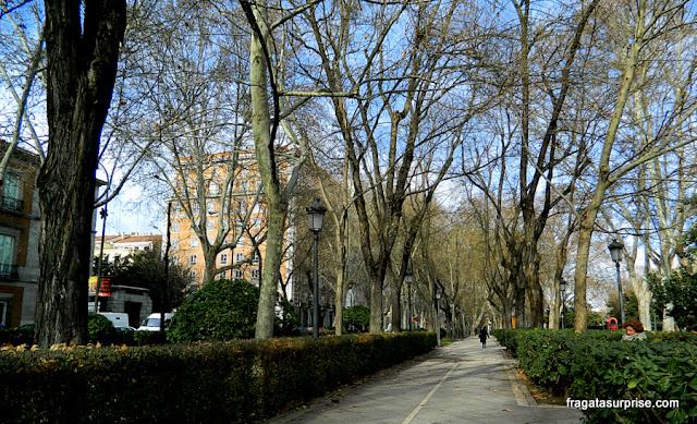 Madri, Espanha - Passeio do Prado