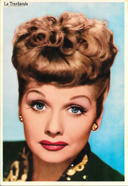 Foto-Postal antigua de Lucille Ball