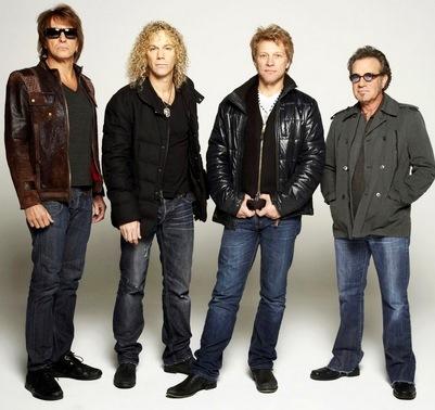 Foto de Bon Jovi ya maduros