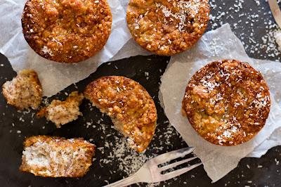 Bananenbrot-Kokos-Muffins