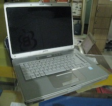 jual laptop second compaq c500