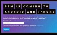 Syarat Bisa Pakai BBM di Android dan iPhone