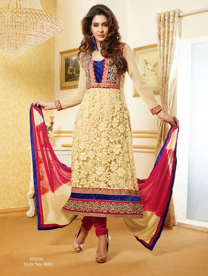 new designer net brasso long salwar kameez helix enterprise