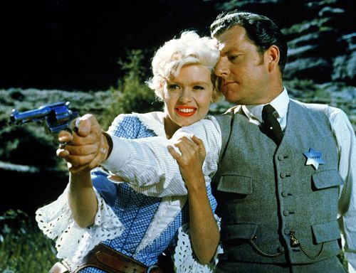Jayne Mansfield and Kenneth More