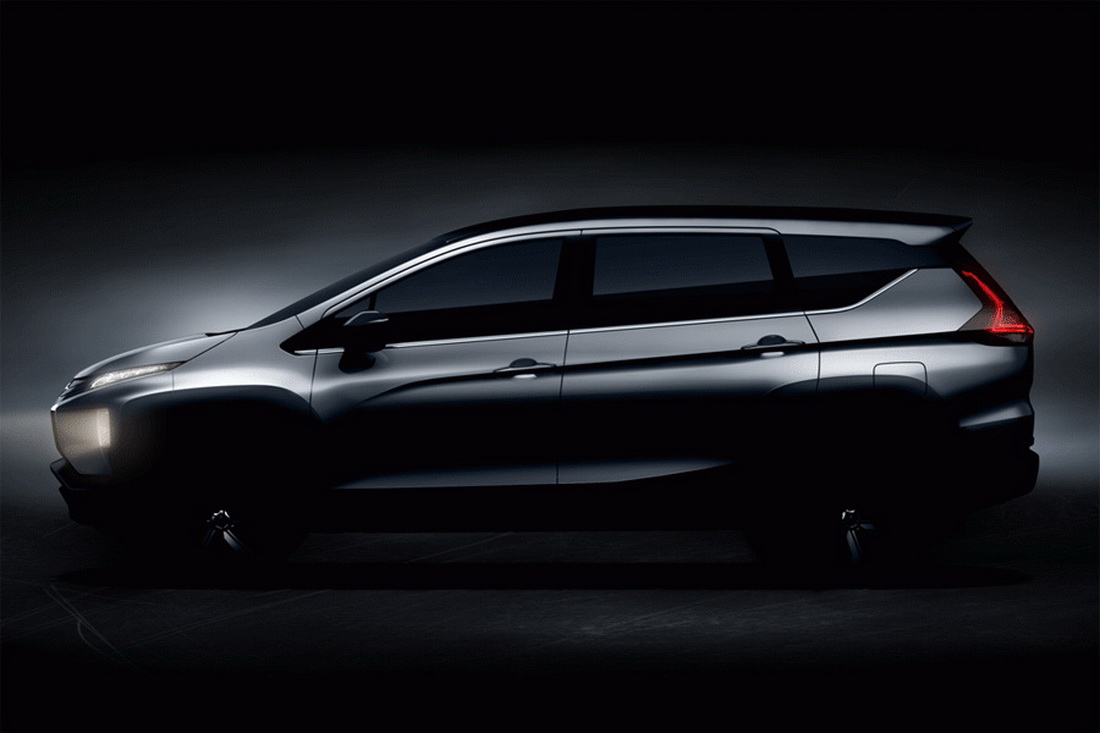 Mitsubishi Teases Production Version Of XM MPV Concept
