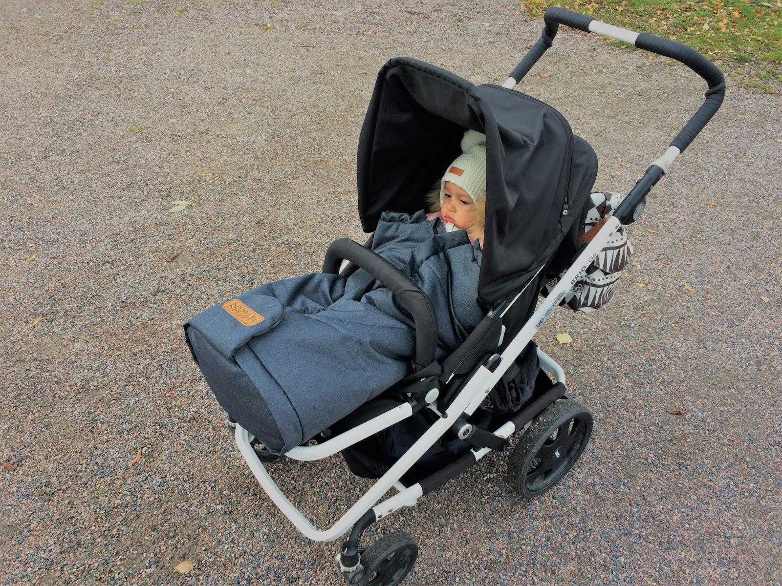Tarvitseeko Etelä-Suomessa rattaisiin lämpöpussia?