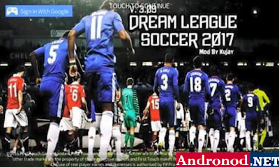 DLS Dream League Soccer 2017 v4.01 Mod Apk Data by Kujay