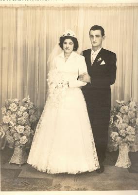 Helio e Idalina foto de casamento