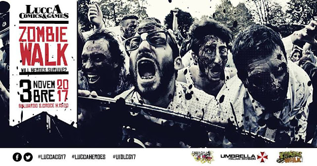 ZombieWalk Lucca Comics & Games 2017
