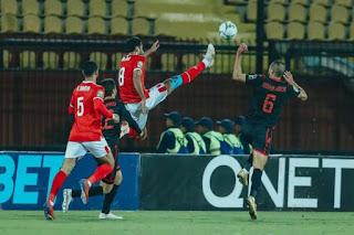 اهداف وملخص مباراة الاهلي وطلائع الجيش الدوري المصري الممتاز