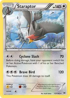 Staraptor BREAKthrough Pokemon Card