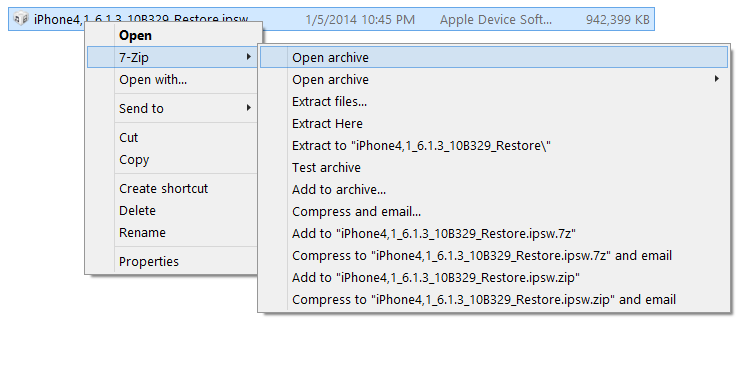 How to extract any iPSW file for any iOS device upto A5 | iPSW BLOG