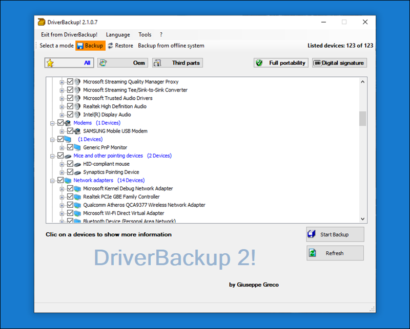 برنامج-DriverBackup