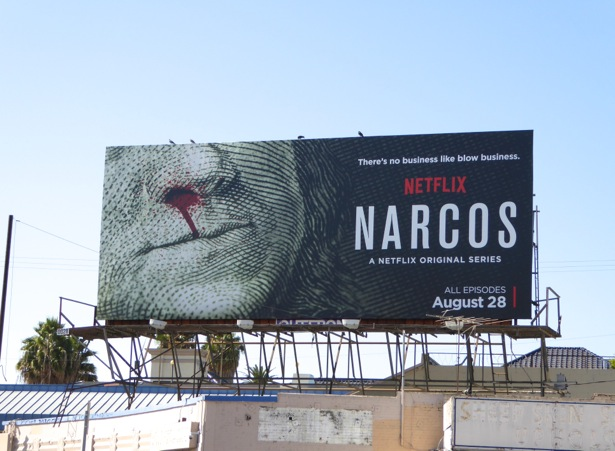 Narcos season 1 Netflix billboard
