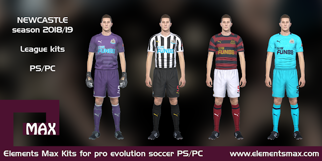 Newcastle United PES Kits 2018/19