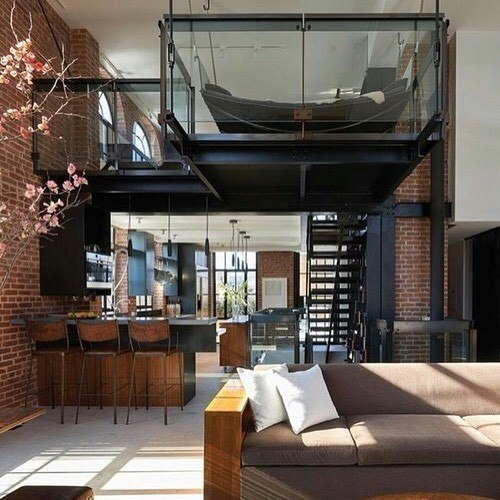 67 Modern Loft Design Ideas' title=