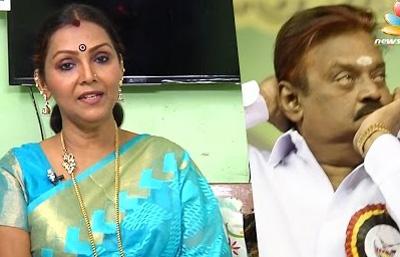 Vijayakanth is the comedy CM candidate : Fathima Babu Interview   Tamil Nadu Election 2016