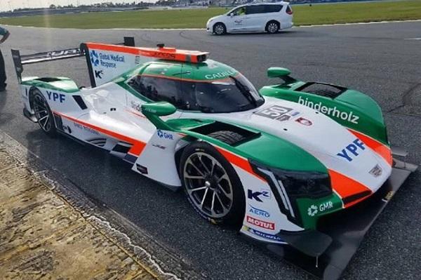 Cadillac DPI-V.R Agustín Canapino Juncos Racing Team 24 Horas de Daytona
