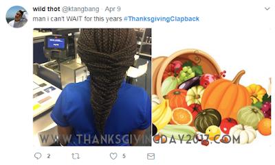 Thanksgiving Clapback Memes