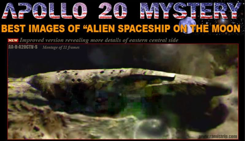Scariest book of all time.: Huge Alien Spaceship on Moon ...