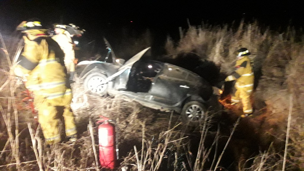 Fatal accidente en ruta 11 una persona perdió la vida