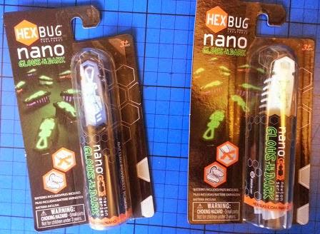 Hexbug Nano Glow-In-The-Dark review.
