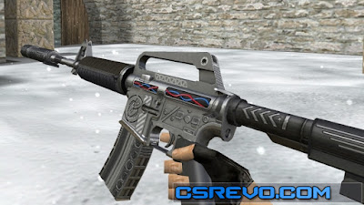 Skin M4A1 - Defuser - HD CS 1.6