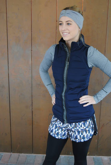 lululemon inkwell fluffed-up-vest