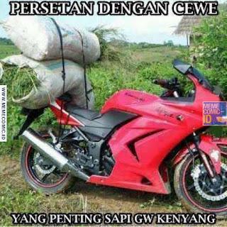 Meme Comic Indonesia terbaru Lucu motor