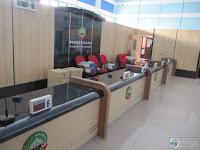 Meja Pelayanan Kantor Pemerintahan