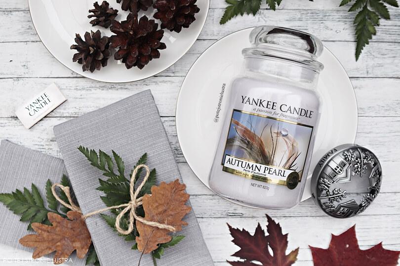 yankee candle autumn pearl nowość jesień 2018