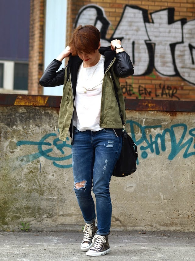 converse, zara, blog mode lille, fashion blogge, at the vanesssa bruno, mach harson, hoodie