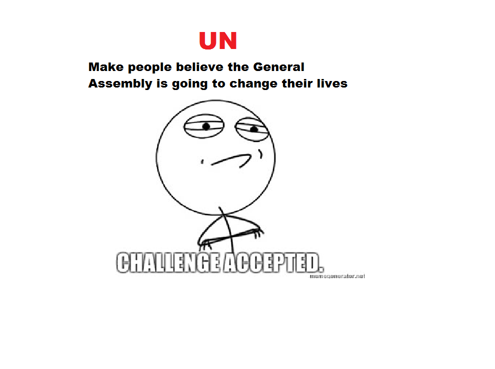 Contemporary World: UN Meme Assignment