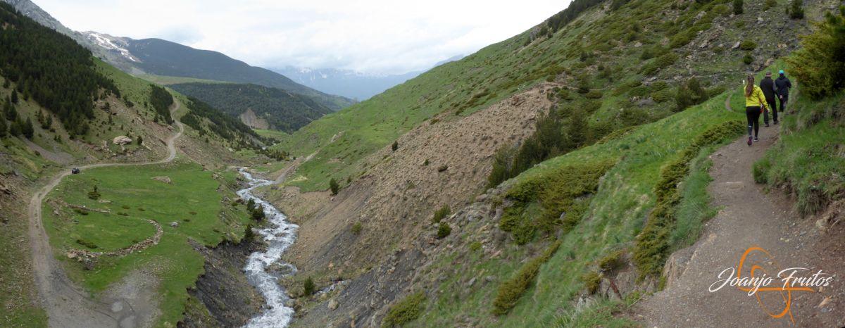 Panorama%2B13 001 - Ruta Las Tres Cascadas de Cerler con mucha agua