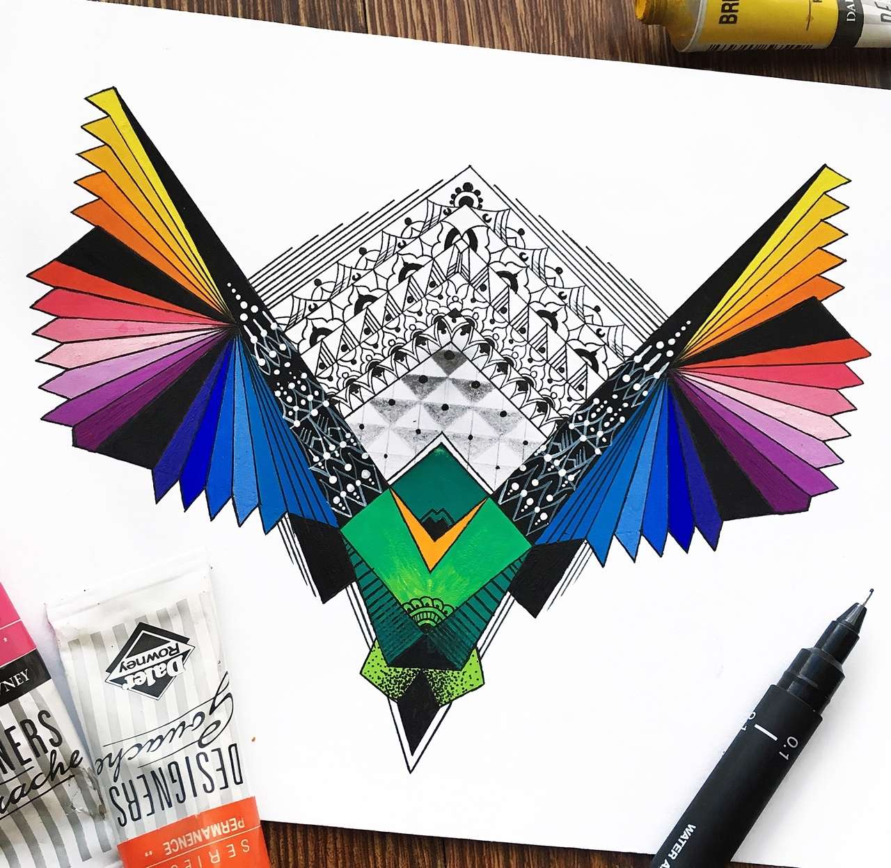 16-Spread-your-wings-and-fly-Dilrani-Kauris-Symmetry-and-Style-in-Mandala-and-Mehndi-Drawings-www-designstack-co