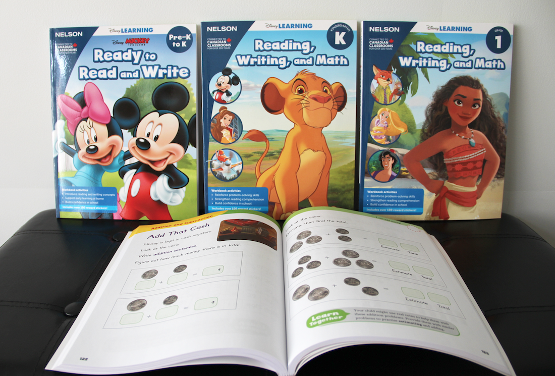 Workbooks nelson math 8 workbook : Introducing NELSON's Disney Learning Products, Designed to Inspire ...