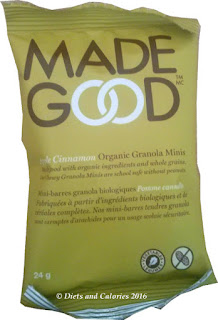 planet organic apple cinnamon granola minis