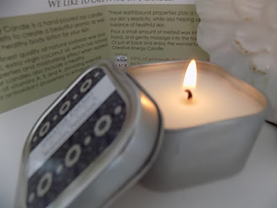 creative Energy candle