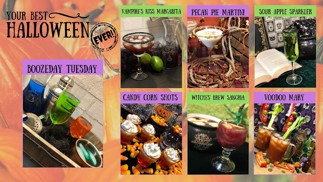 Your Best Halloween Ever, BOOzeday Tuesday Year One Recap, best Halloween party drinks