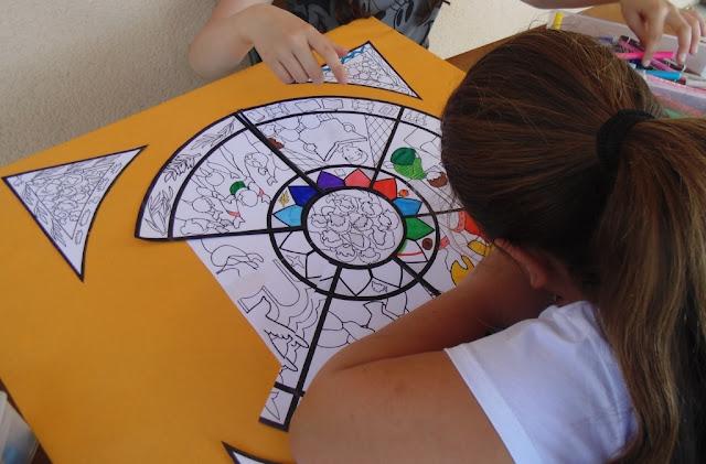 Bricolage : réaliser le vitrail de l'eucharistie