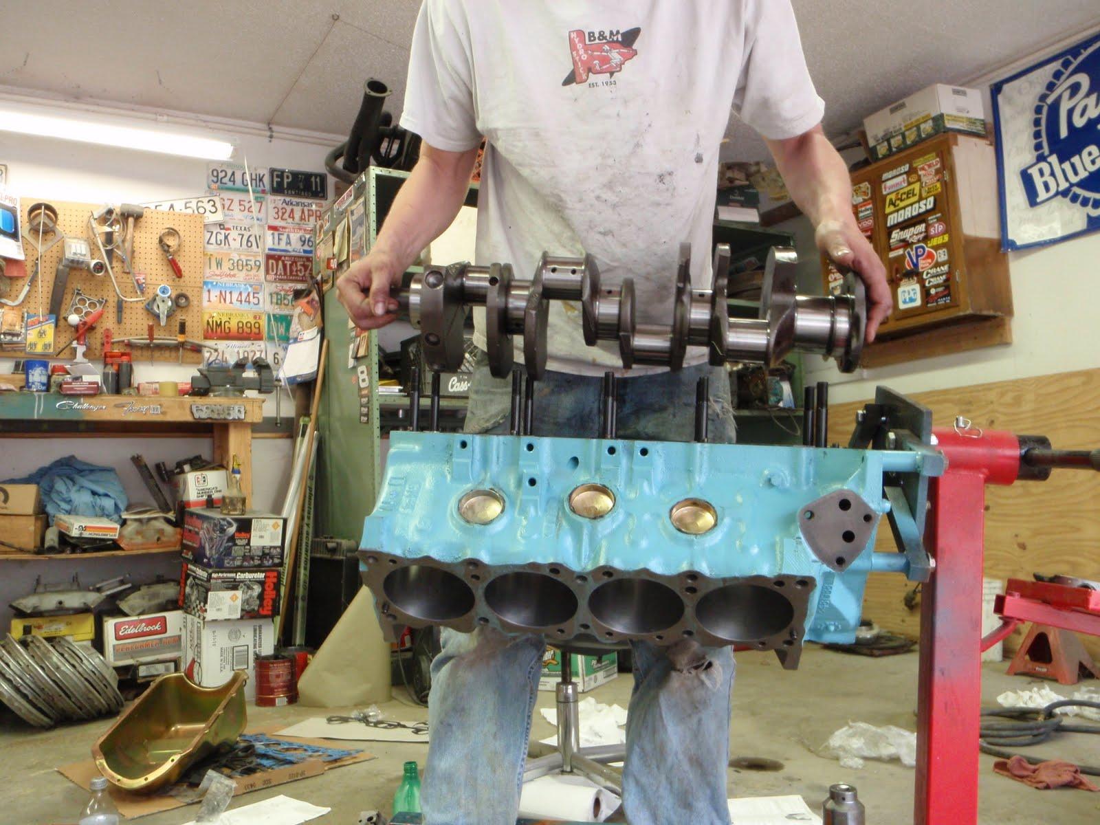 the cynical gearhead: 400 cubic inch Pontiac buildup Part 2