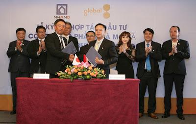 Tập đoàn Global Group Nhật Bản ký hộp tác cùng chủ đầu tư Nhà Mơ