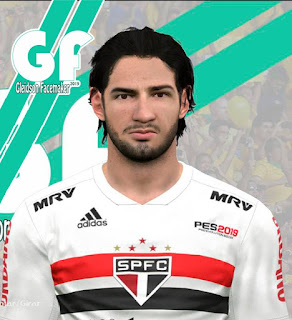 PES 2017 Faces Alexandre Pato by Gleidson