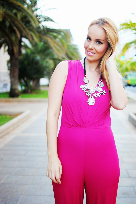 nery hdez, jumpsuit, pink jumpsuit, ahai shopping, ahai blogger