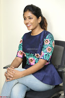 Eesha Looks super cute stunning in Denim Jeans and Top at Darsakudu movie Inerview ~  Exclusive 027.JPG
