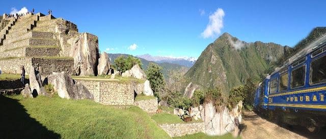 Tren para visitar Machu Picchu, Perú