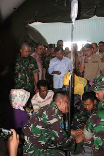 Atas Perintah Panglima, TNI Gelar Rumah Sakit Lapangan